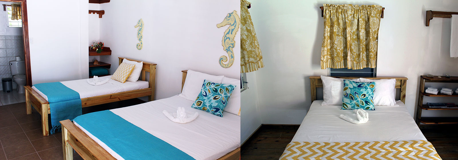 Tobacco Caye Rooms