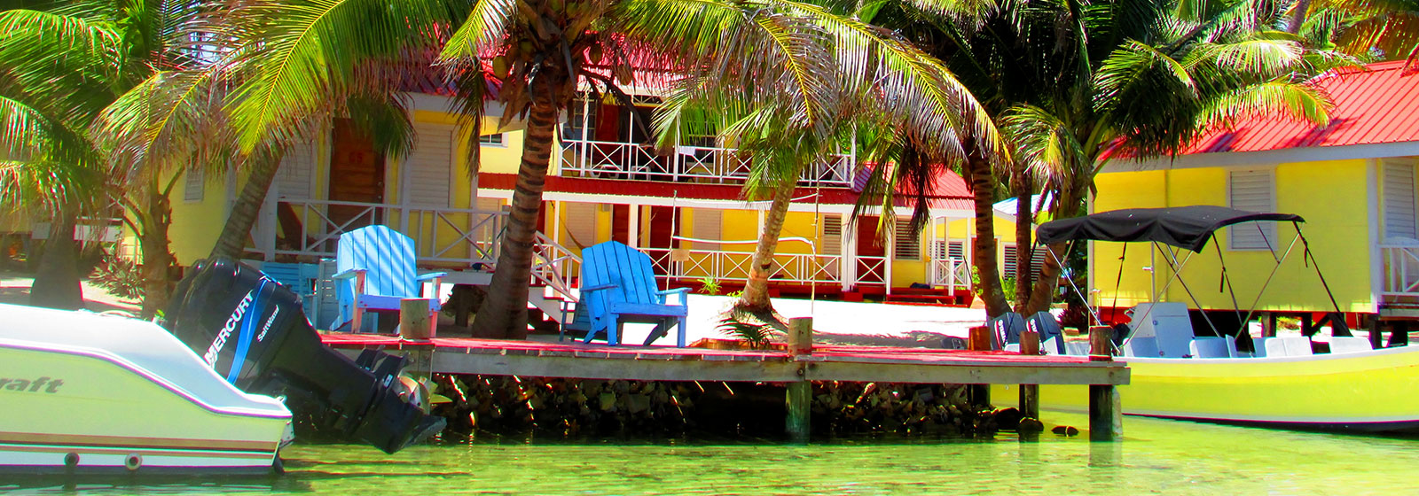 Tobacco Caye Joe Jo's Dock