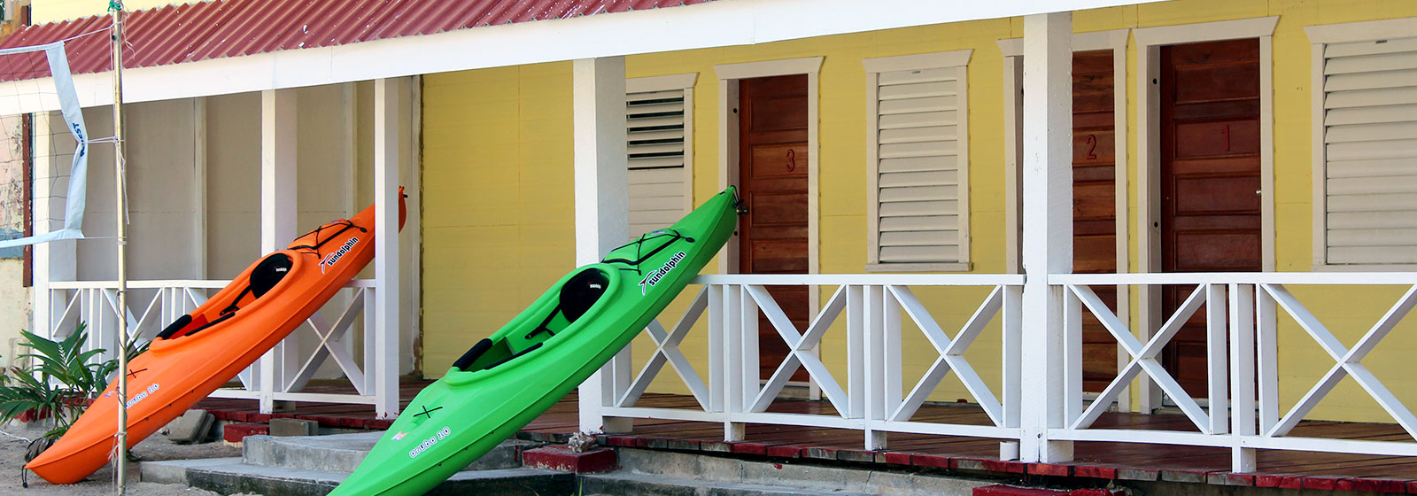 Tobacco Caye Kayaking